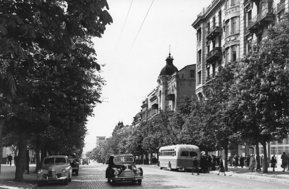 1952.04.19. Улица Ленина (ныне улица Богдана Хмельницкого)