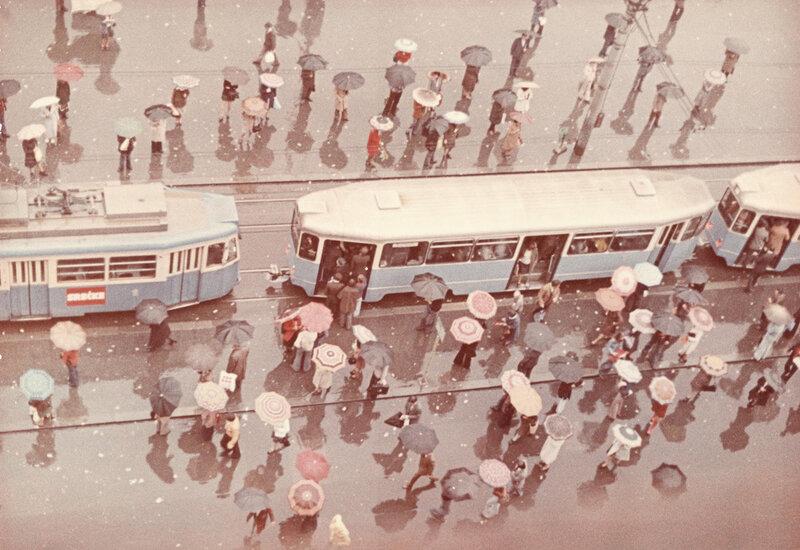 Dmitry Baltermants Rain. 1960s