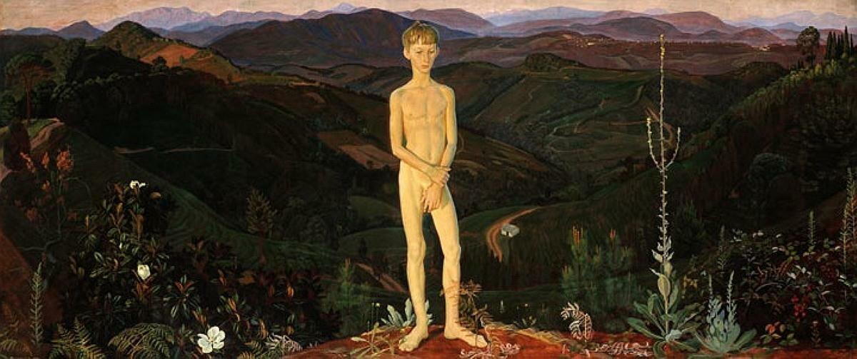 Мальчик и горы, 1972 год, Жилинский Дмитрий Дмитриевич (1927-)