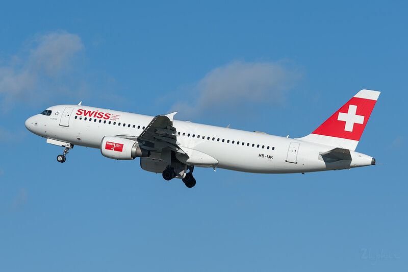 Airbus A320-214 (HB-IJK) Swiss DSC7013