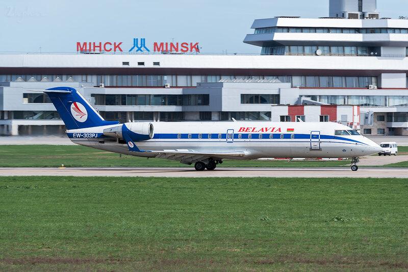 Bombardier CRJ-200LR (EW-303PJ) Белавиа D800311