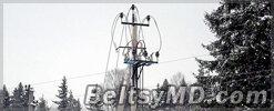 Из-за непогоды на Украине обесточено 27 поселений