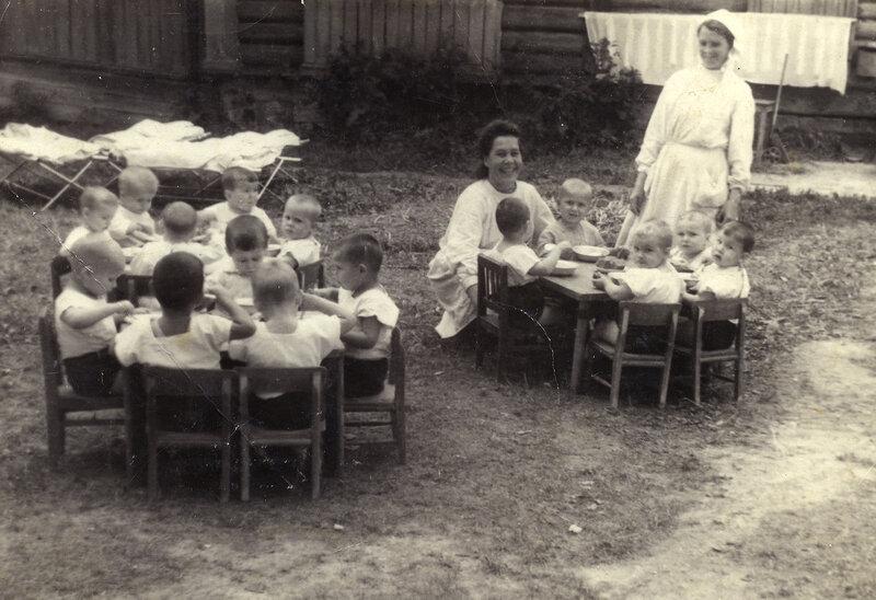Детский сад в СССР 1930-х - 1950-х гг.