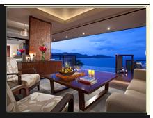 Сейшелы. О.Праслин. Raffles Praslin Seychelles. Royal_Suite_Villa_-_Living_Room