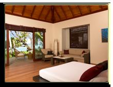 Сейшелы. О. Силуэт. Hilton Seychelles Labriz Resort & Spa. Beach Villa