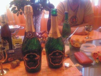 Поддельное шампанское