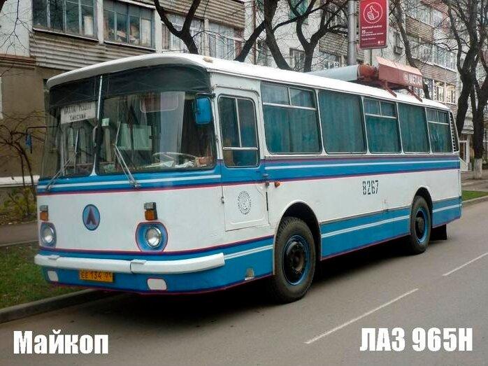 Автобусы в разных городах России