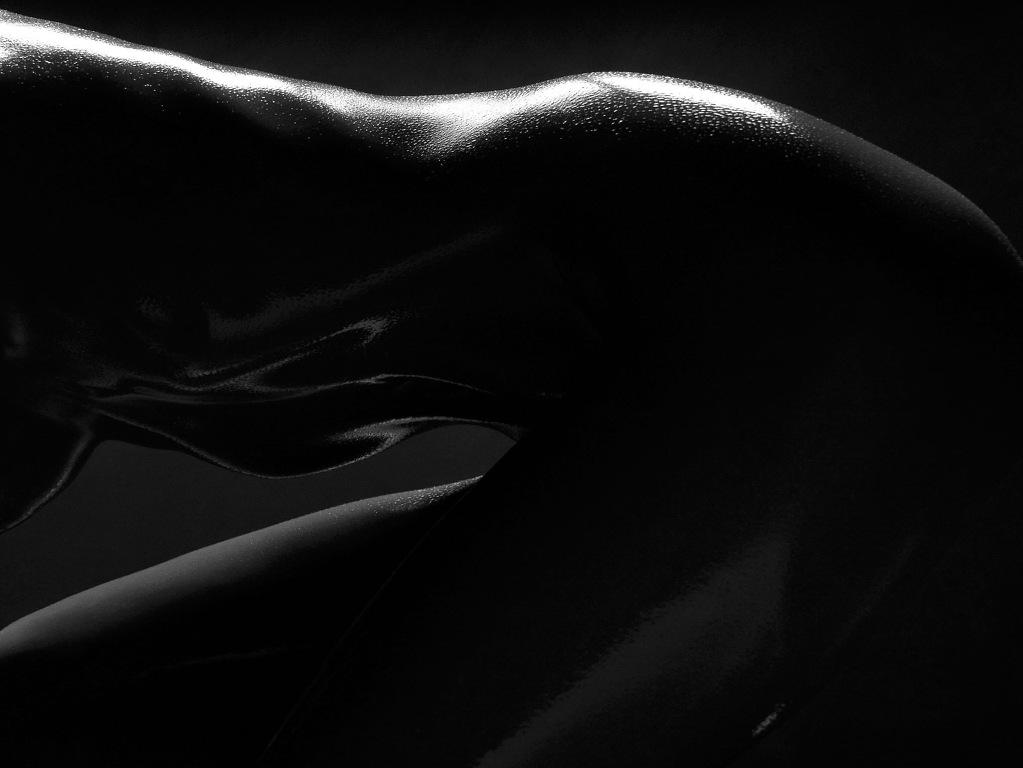 Лесбиянки в темной комнате
