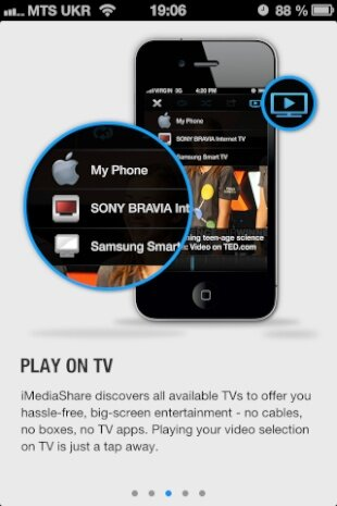 iMediaShare iPhone iPad Airplay Windows