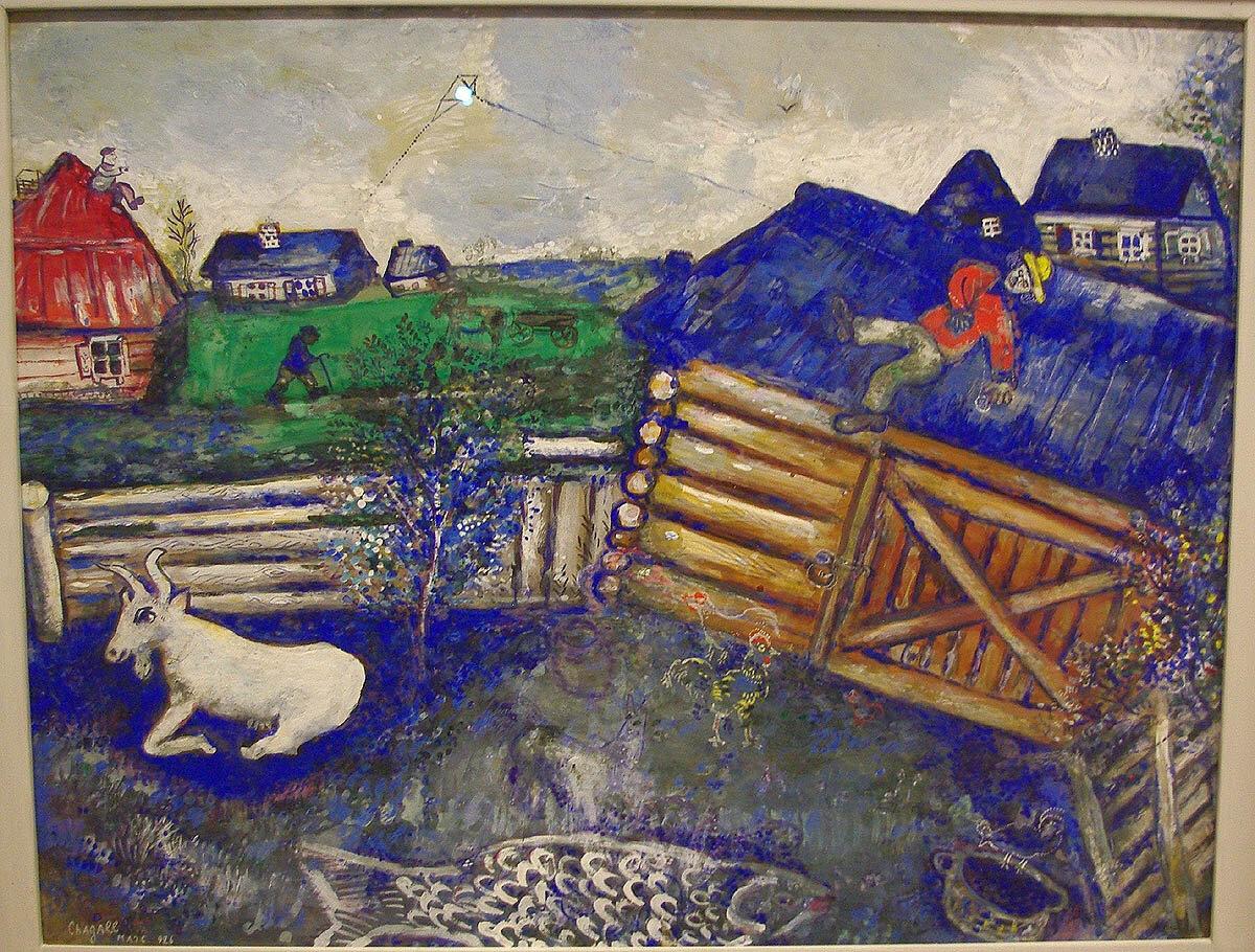 Марк Шагал. Воздушный змей. 1926