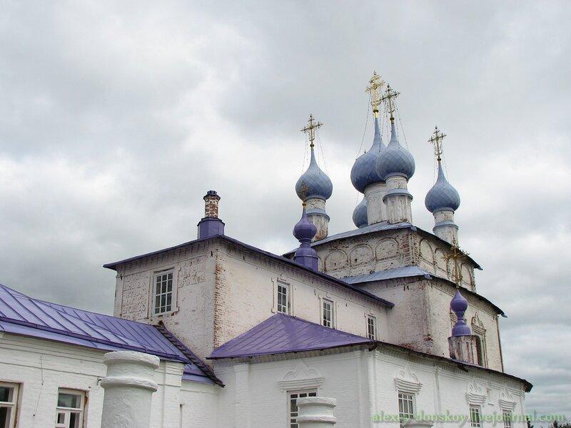 Палех. Церковь Воздвижения Креста Господня