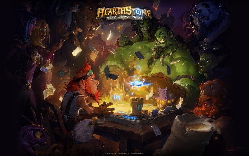 Хартстоун герои варкрафта обои HearthStone Heroes of WarCraft HS WC wallpaper 2013