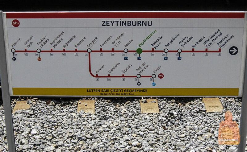 Красная ветка метро Стамбула