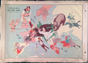 1914. «Убейте этого орла!», Лондон