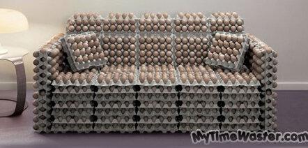 Идеи использования яичных лотков