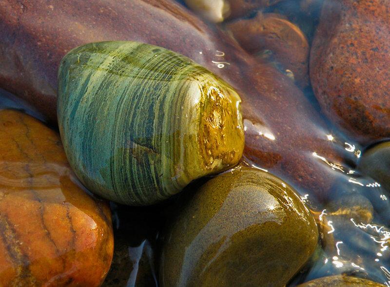 Речные камушки