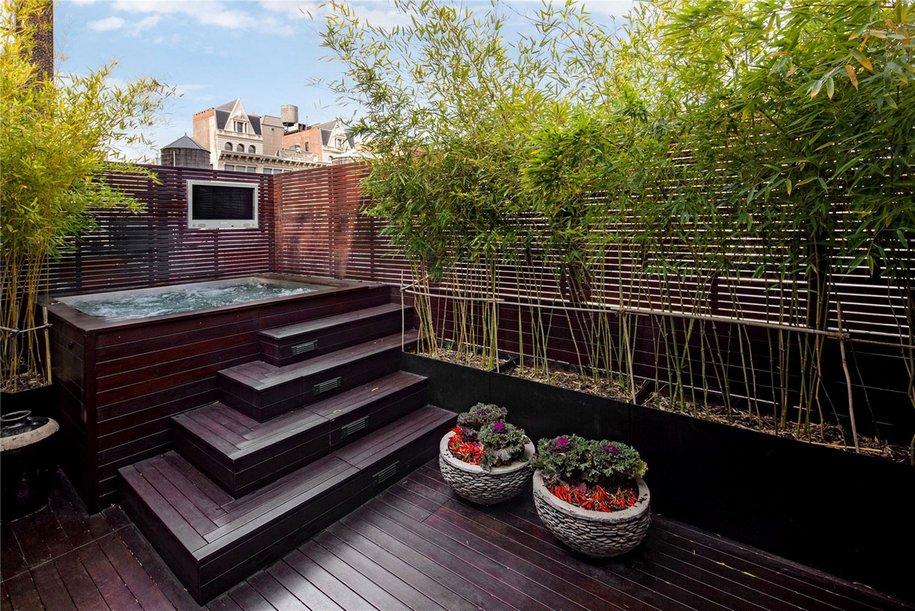 Двухэтажный пентхаус в районе Сохо на Манхэттене