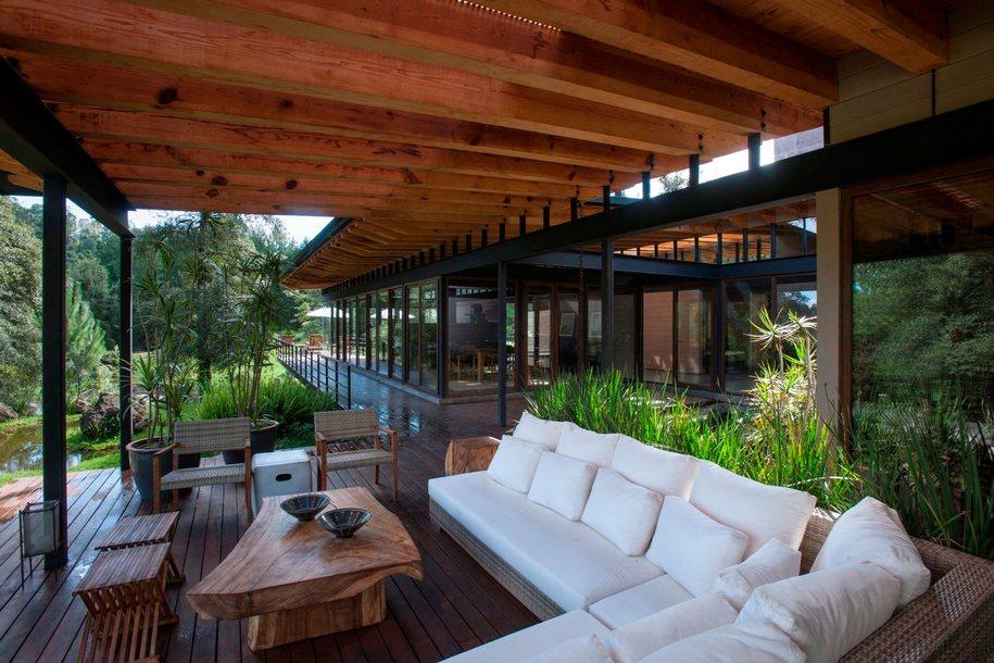 Солнечная резиденция в городе Валье-де-Браво, Мексика