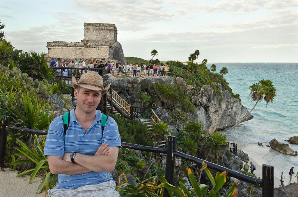 Фото4. Мексика самостоятельно. Тулум. Замок у моря