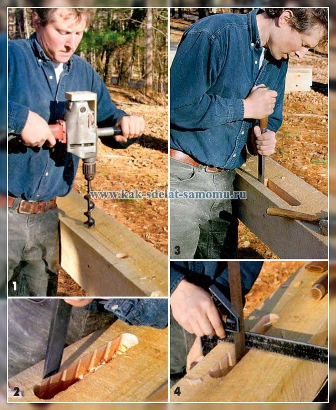 изготовление каркаса своими руками
