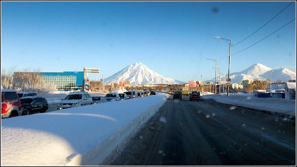 Вулканы в Петропавловск-Камчатском