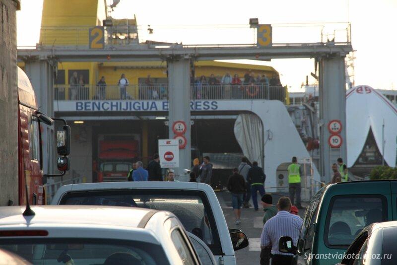 Тенерифе, отплытие на Гомеру из порта Лос Кристианоса