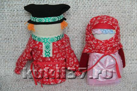 куклы-обереги Богач и Крупеничка