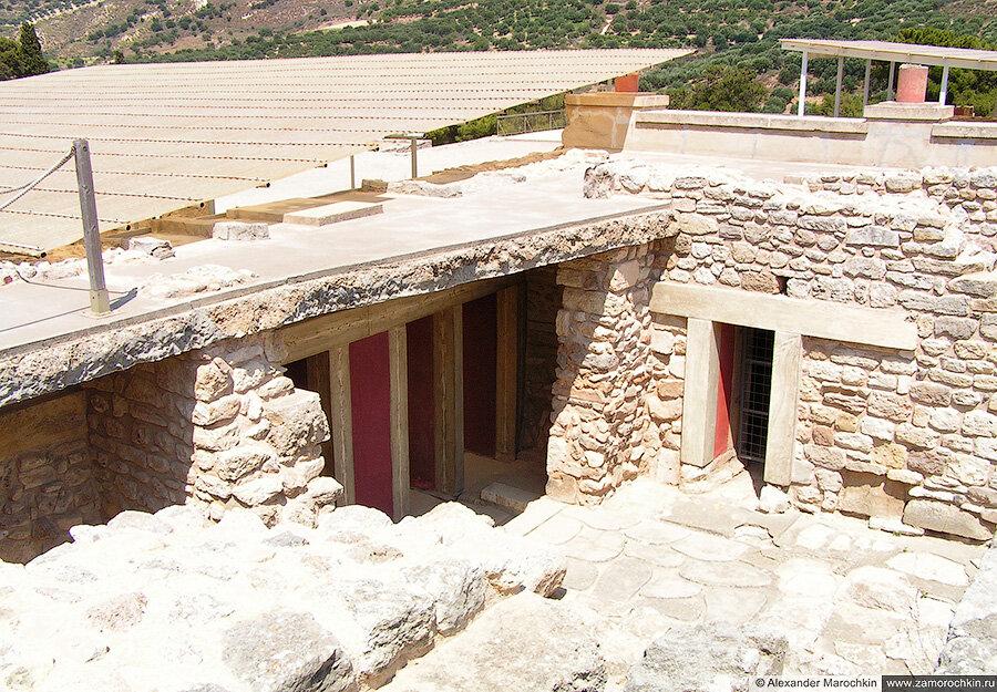 Археологический заповедник Кносский дворец, Крит, Греция