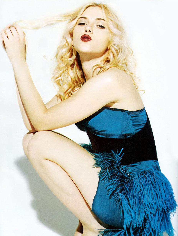 поцелуй звезды / воздушный поцелуй от Скарлетт Йоханссон / Scarlett Johansson