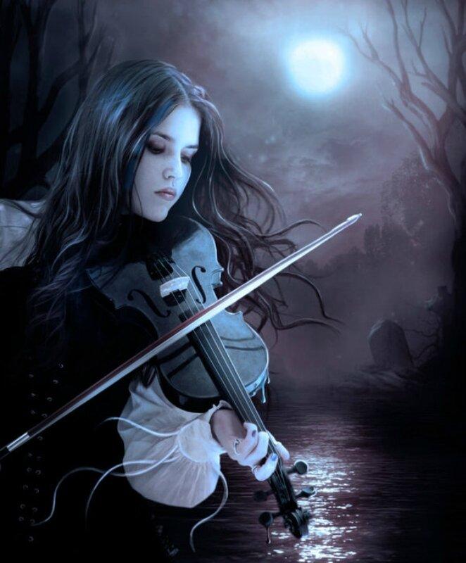 Художница Елена Дудина. Но за дубами, деревянными спинами прячутся феи, цветы, чудеса