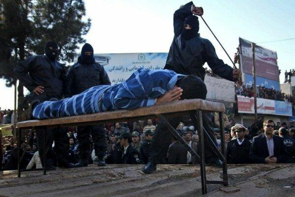 В Иране публичная порка розгами - обычное дело