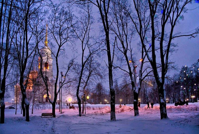 Под звон Рождественских колоколов.