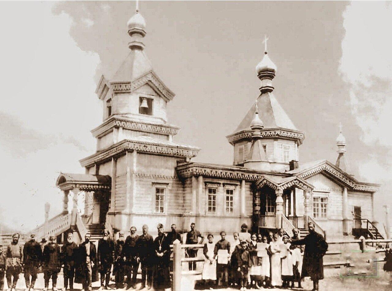 Свято- Димитриевский храм село Теплоключенка(1907)