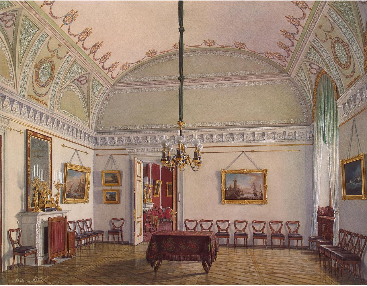 Интерьеры Зимнего дворца. Комната № 2