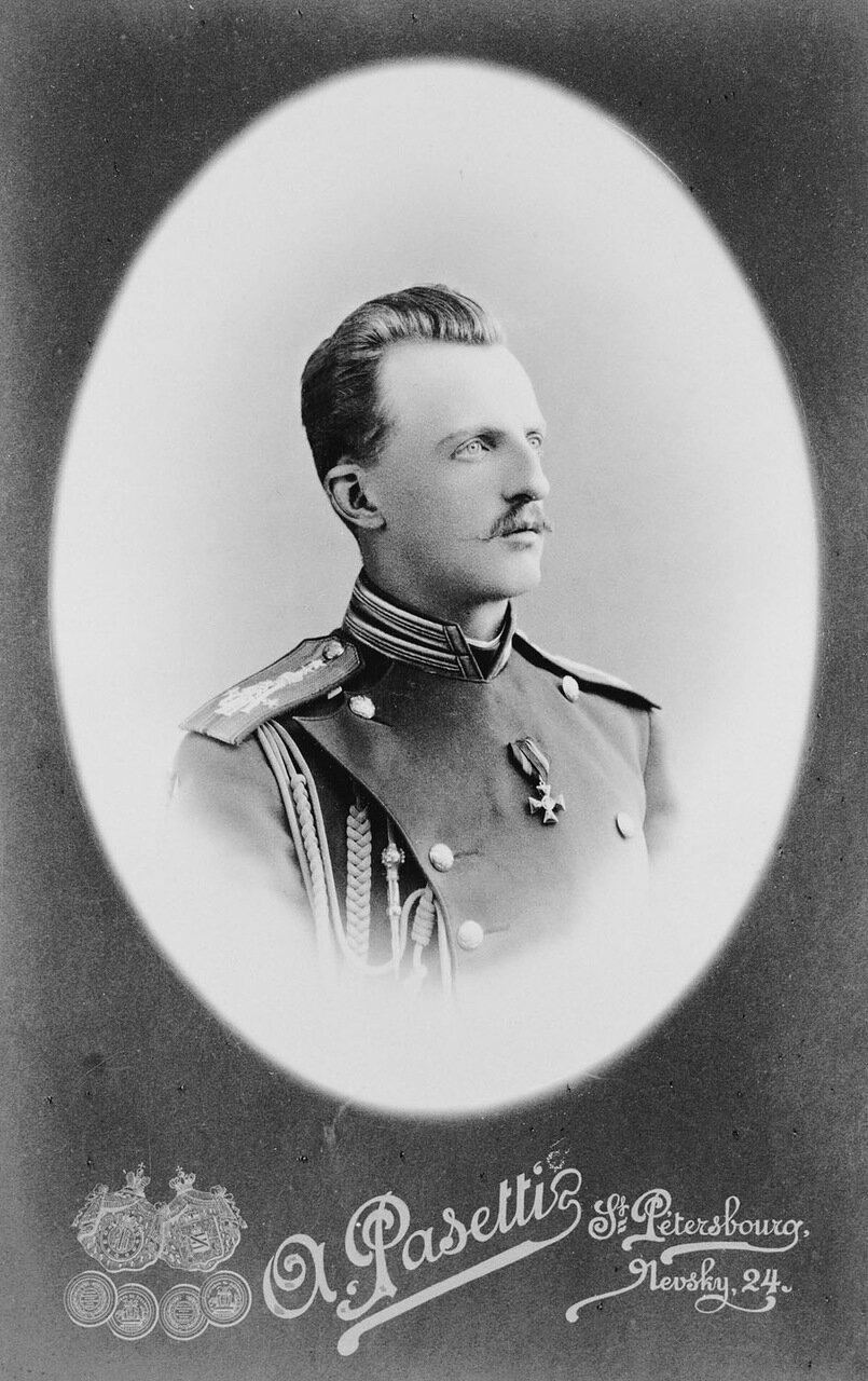 Великий князь Петр Николаевич, второй сын великого князя Николая Николаевича (старшего), внук Николая I.1885 г.
