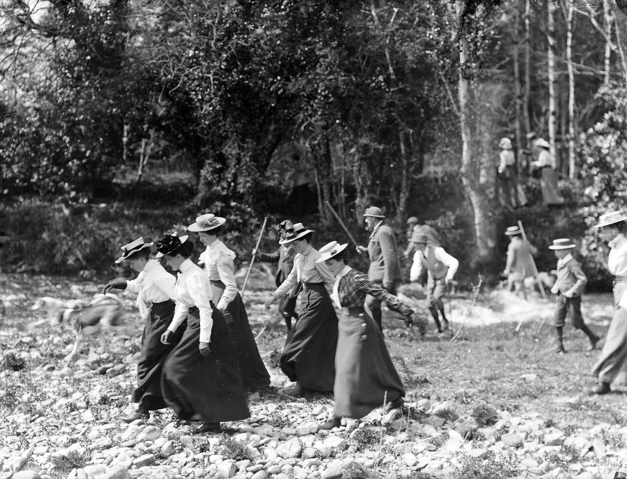 На охоте.14 мая 1901.