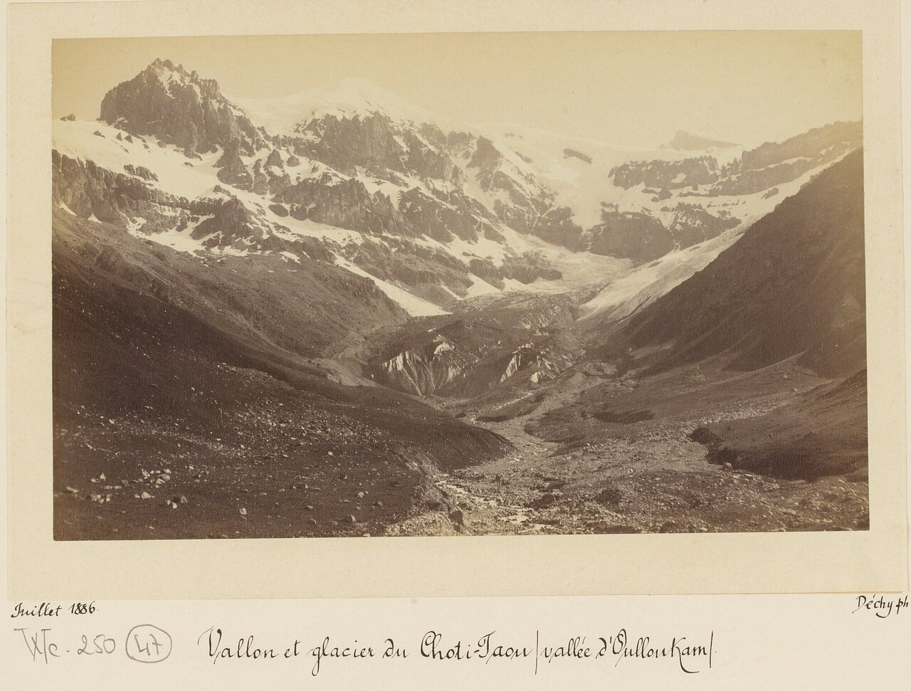 Долины и ледники Чоти-Тау плюс долина Уллукам