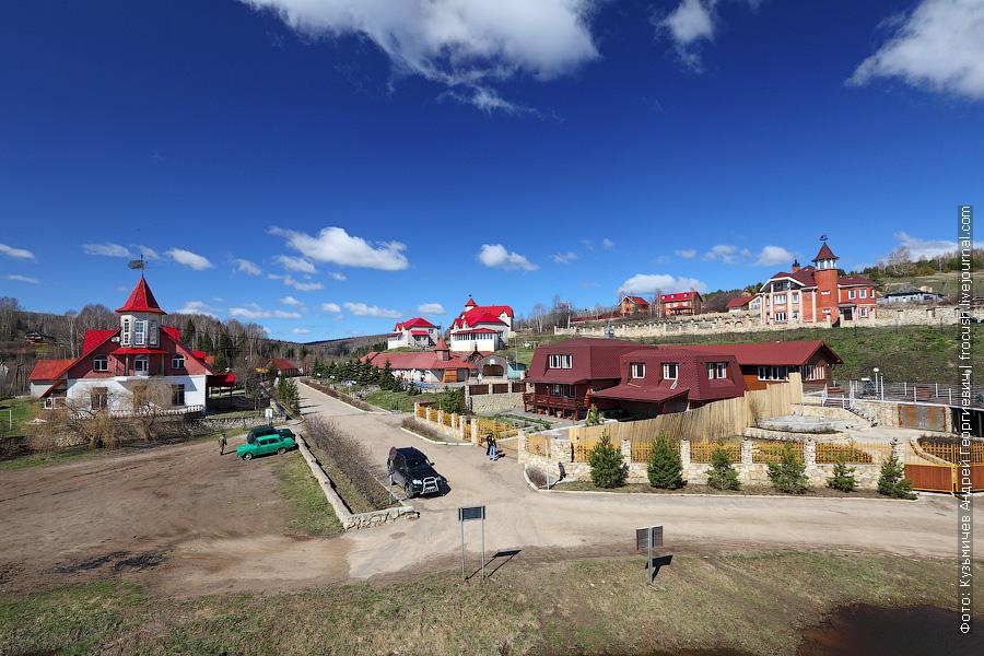 база отдыха «Наследие» в местечке Петропавловское
