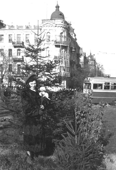 1950-е. Площадь Богдана Хмельницкого