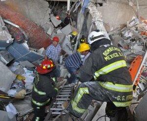 В Мехико произошёл взрыв небоскрёба — 25 погибших
