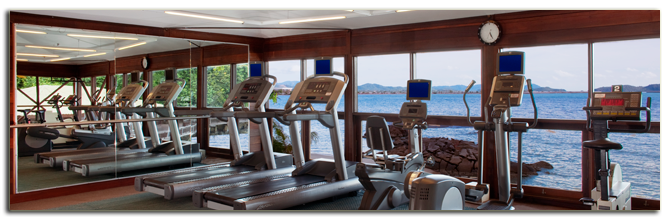 Малайзия. Лангкави. Sheraton Langkawi Beach Resort. Fitness Centre
