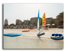 ОАЭ. Дубаи. The Westin Dubai Mina Seyahi Beach Resort & Marina