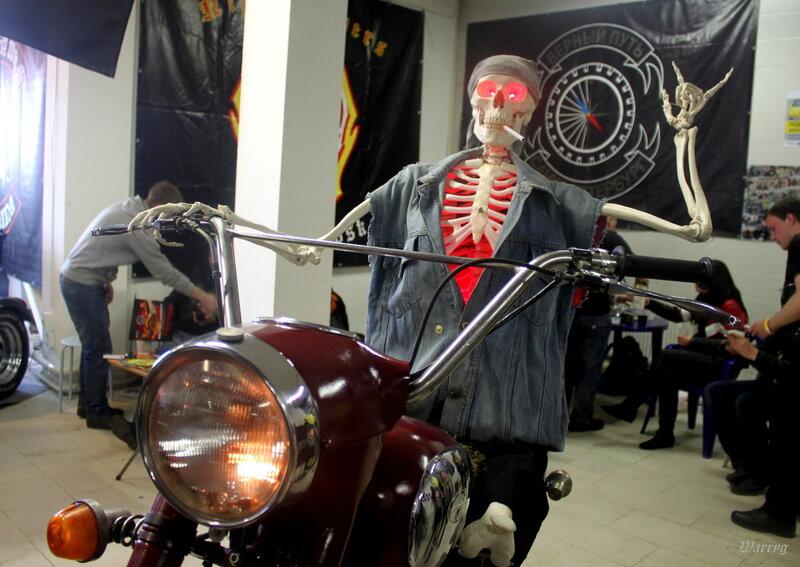 Призрак байкера