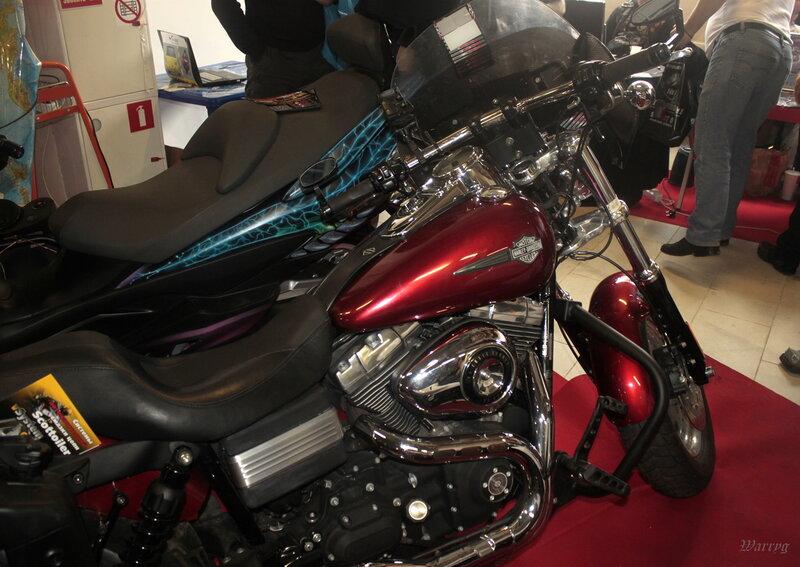 Мотоцикл Harley-Davidson мотоклуба «Луга Моторс МС»
