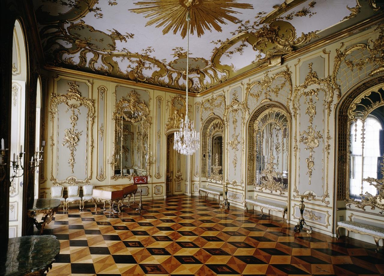Friedrich Working Room Parquet Flooring / Potsdam