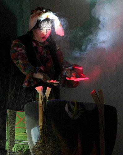 """Эколог, травница и """"дитя природы"""" - Баба-Яга в исполнении Алены Криницыной"""