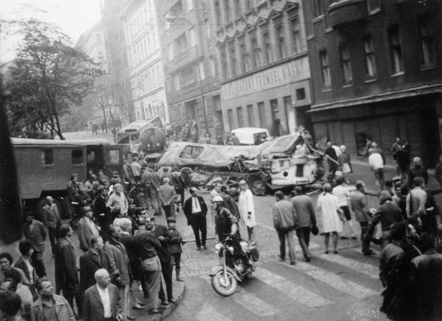 События 1968 года в Чехословакии, Прага