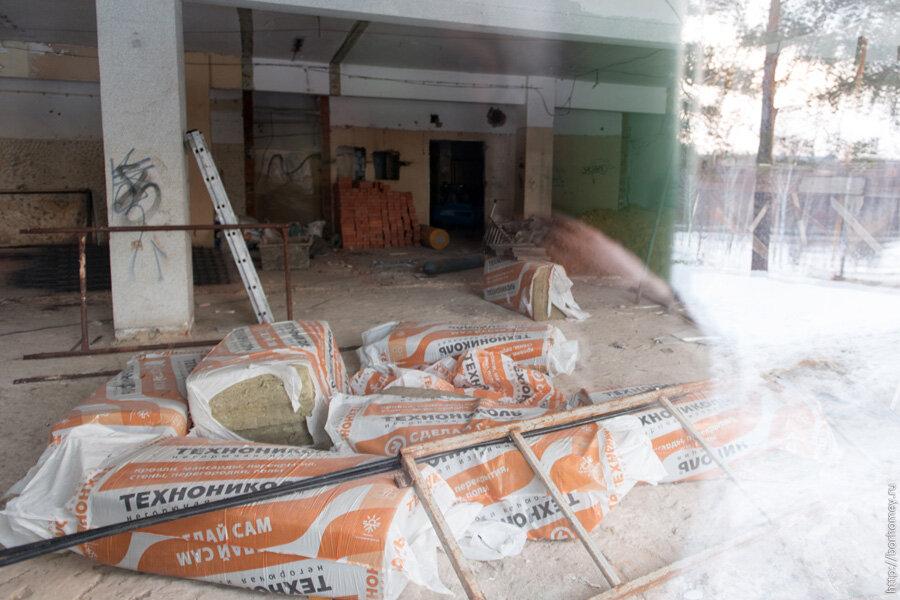 ремонт магазина саров