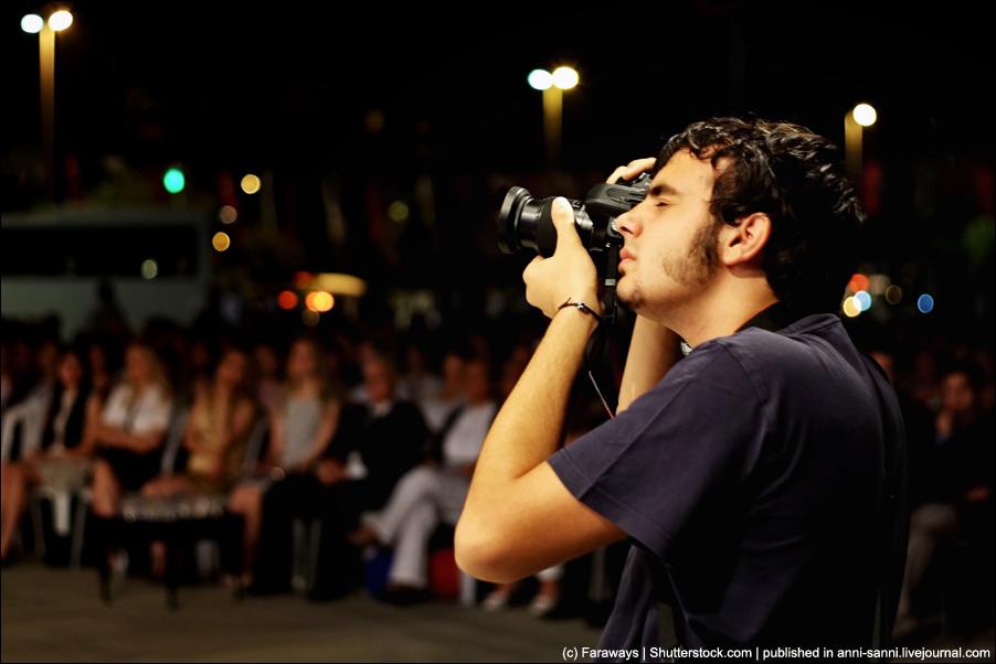 Как фотографировать общественные мероприятия