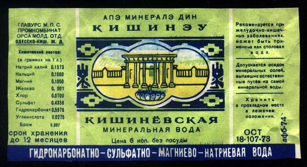 Минеральная вода из СССР :-)